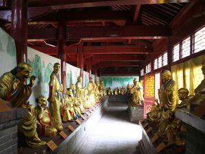 Le hall aux 500 bouddhas