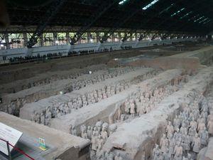 Xi'an et l'armée de terre cuite