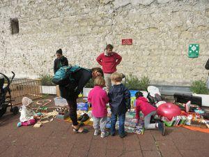 Vide-grenier du 18 septembre à la tour Boucry