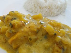 Curry de volaille