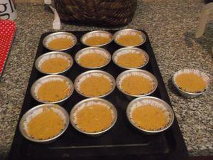 muffins à la carotte, à la cannelle et aux noix
