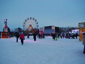 La fête des neiges.