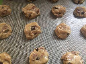 Cookies praliné ,chocolat pistache