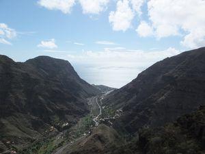 Vers la Valle Gran Rey et sa plage