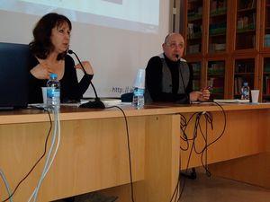 Conférence à l' Université d'Alicante. photos : Elizabeth Robin