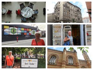 Circuit du 15 août - Corinthia - Synagogue - marché couvert - Vaci utca - Andrassuy ut