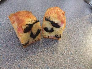 cakes apéro olives et lardons