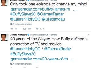 Sarah Michelle Gellar souffle les 20 bougies de la série Buffy contre les vampires