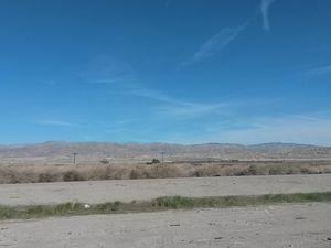 Sierra Nevada au fond... Qualité des photos plus que médiocre... Ca ne montre pas ce que j'ai vu...