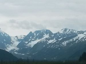 Sur la route vers Anchorage