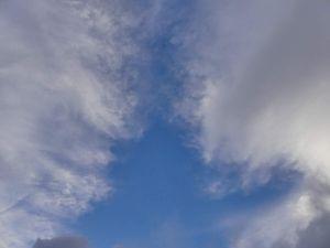 Vous remarquerez la photo de ciel qui MURES !!! Nom nom nom miam crunch...