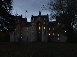 Fyvie Castle : on a pris des photos de ninjas dans la nuit ! Personne ne nous a vu ni ne nous a rien dit !
