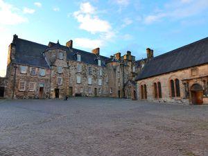 Stirling Castle, cour intérieure