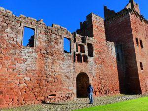 Edzell Castle : un peu dur à trouver mais j'aurais été dégouté d'avoir payé pour ça !
