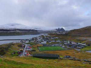 Eiði : pas un pet de neige même s'il pleut