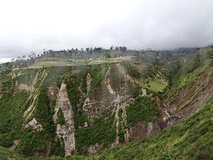 Le canyon de la cascade Golondrina