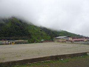 Sur la route de Vilcabamba à Zumba. Les séquelles des inondations et éboulements sont encore visibles...