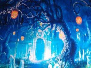 Décor Toile de Fond &quot&#x3B;Halloween&quot&#x3B;