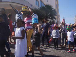 Ce mercredi 15 février, l'école a défilé, avec comme thème commun le chapeau