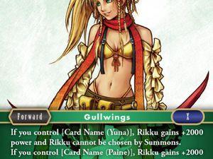 Carte : Rikku (1-201S)