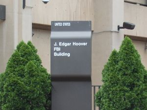 (siège du FBI, photo Vincent CHARLES, 15/07/2009, Washington D.C)
