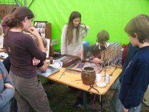 initiation au filage de verre et au travail du métal