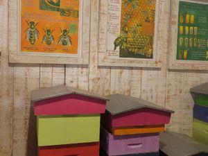 Des ateliers pédagogiques sur le miel ou le jus de pomme...