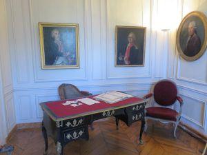 Visite du musée Lambinet à Versailles.