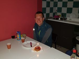 Birthday on the Camino