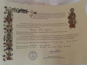 Km certificate and the church