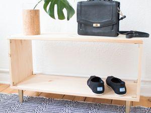 DIY -- Un meuble chaussures minimaliste