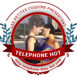 telephone bleu hot