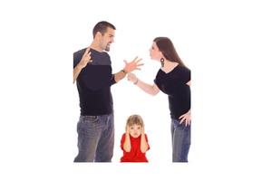 Quando i genitori litigano