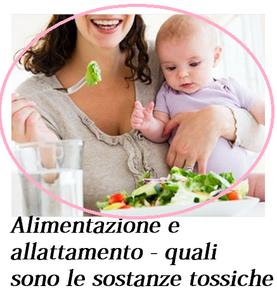 Sostanze nocive e allattamento