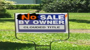 CLOUDED TITLE : MILLIONS of MORTGAGE DOCUMENTS FAKED
