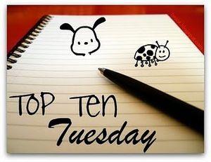 Top Ten Tuesday #6 - Les dix personnages secondaires les plus mémorables