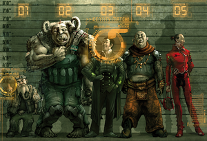 Savage Shadowrun — Les races