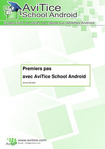 Nouveau guide d'utilisation pour AviTice School A.I.