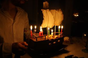 Ho ho A Pirate's birthday for Dude : 28 ans !