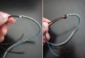 Step by Step Tutorial for Handmade Wrap Bracelets