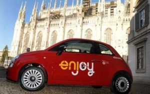 Car Sharing a Milano? Arriva Enjoy!