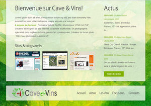 Thème Overblog/Kiwi : Dony - Catalogue ou Infos