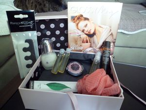 Glossybox d'octobre : Home spa