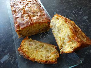 Cake à la rhubarbe ou rhubarbe/fraise