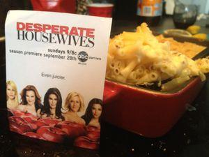 Desperate Housewives ou &quot&#x3B;le gratin de macaronis de Susan Meyer&quot&#x3B;