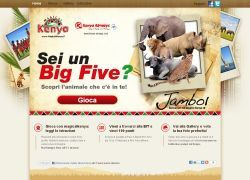 BIT 2012 - Gioca con il Kenya Tourist Board e scopri che Big Five sei