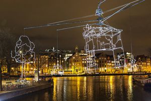 Gent s'illumina d'immenso con il Light Festival