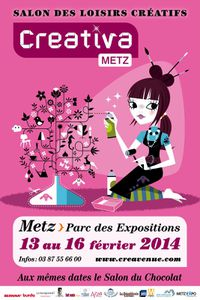 Salon Creativa Metz du 13 au 16 février