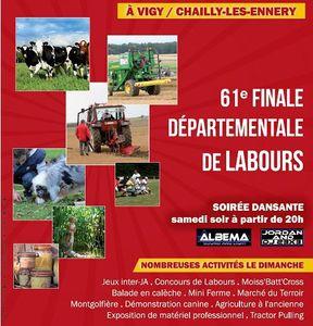 Jeunes Agriculteurs de Metz-Campagne Finale départementale des labours les 23 et 24 août