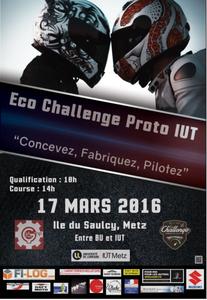 IUT Metz Eco Challenge Proto IUT &quot&#x3B;Pocket Bike&quot&#x3B; 2016